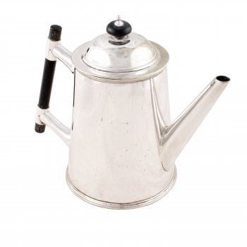 Victorian Silver Plated Tea Pot
