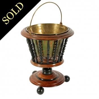 19th Century Dutch Mahogany Bucket