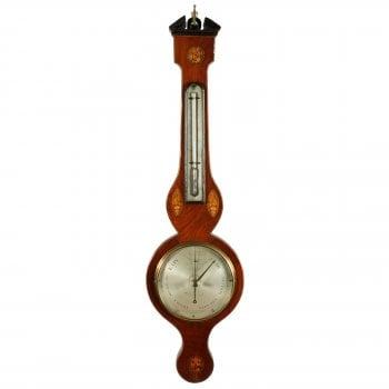 Georgian Barometer & Thermometer