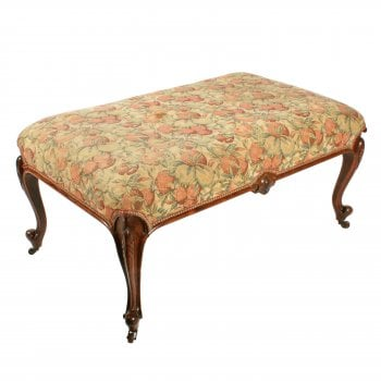 Large Victorian Rosewood Centre Stool