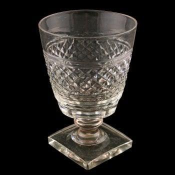 Georgian Cut Glass Rummer SOLD