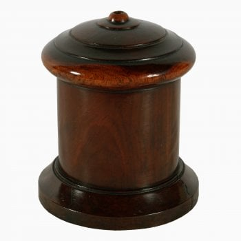 19th Century Treen String Box