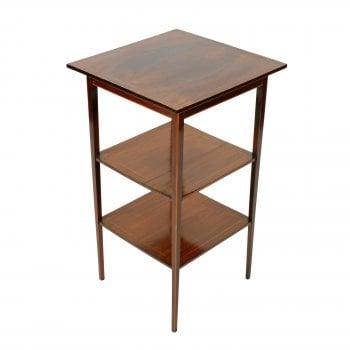 Edwardian Mahogany Lamp Table
