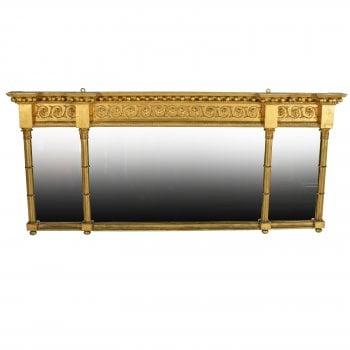 Georgian Gilt Overmantel Mirror