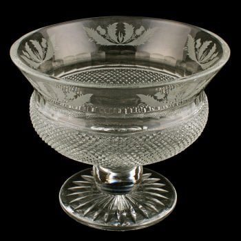 Scottish Cut Crystal Bowl