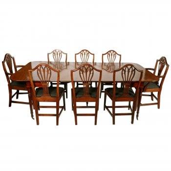 Georgian Concertina Action Dining Table