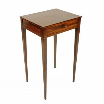 Georgian One Drawer Lamp Table