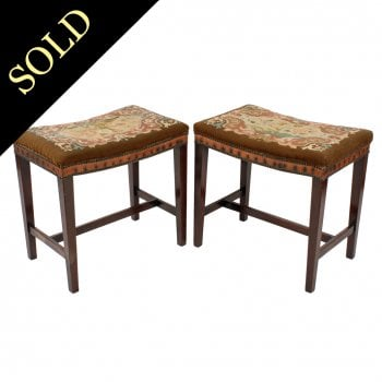 Pair of Georgian Style Stools