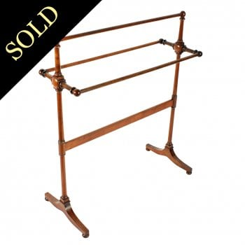 Large Early 19th Century Towel Rail