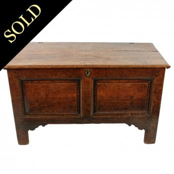 18th Century Oak Dower Chest