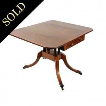 Georgian Rosewood Pembroke Table