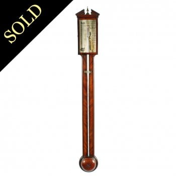 Georgian Edinburgh Stick Barometer