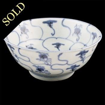 Chinese Tek Sing Cargo Rice Bowl