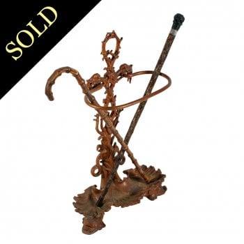 Victorian Cast Iron Stick Stand