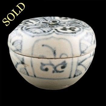 15th Century Hoi An Hoard Lidded Pot