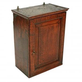18th Century Oak Spice Cabinet