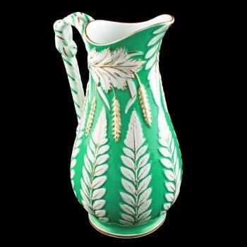 Victorian Staffordshire Pottery Jug