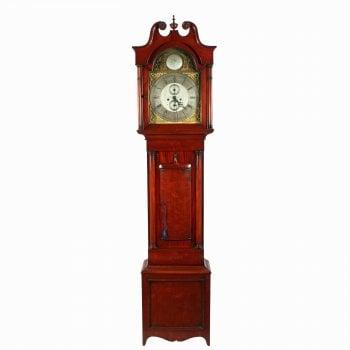 Victorian Mahogany Grandfather Clock