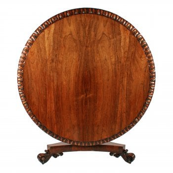 George IV Rosewood Centre Table