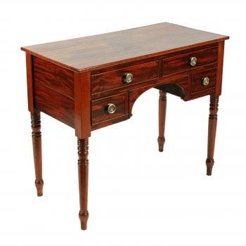 Georgian Knee Hole Side Table