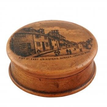 Scottish Mauchline Ware Compass