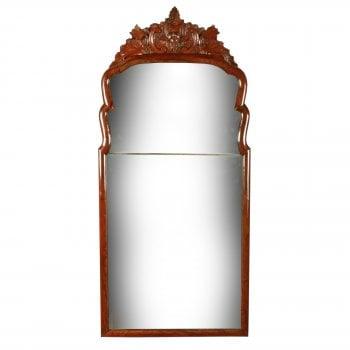 18th Century Dutch Walnut Framed Mirror