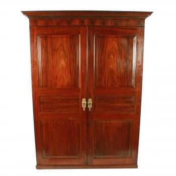 Georgian Two Door Wardrobe SOLD