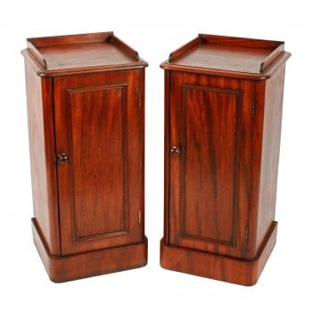 Pair of Victorian Bedside Cabinets SOLD