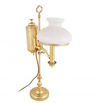 Victorian Brass Student Lamp SOLD