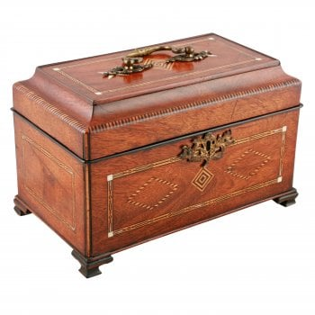 18th Century Chippendale Tea Caddy