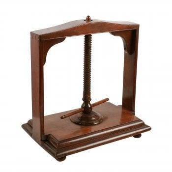 18th Century Fruit Wood Book Press