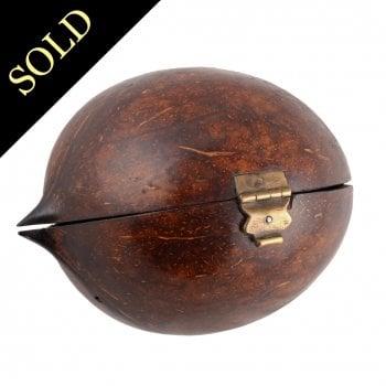 19th Century 'Nut' Box