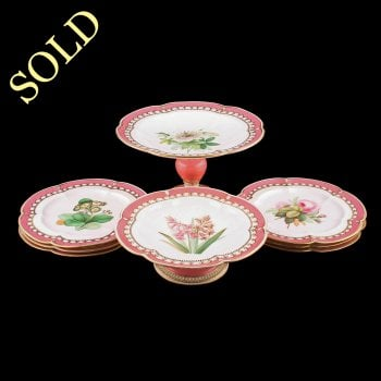 Victorian Porcelain Dessert Ware