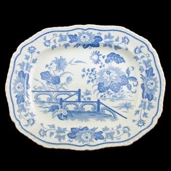 Stone China Meat Plate