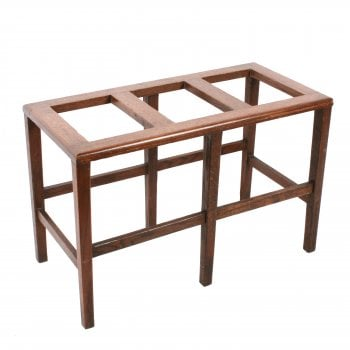 19th Century Oak Luggage Stand SOLD