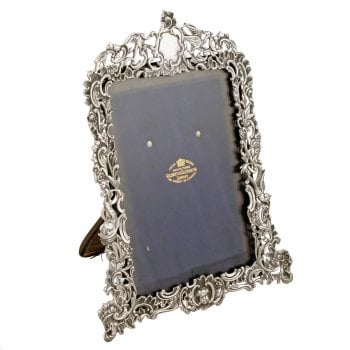 Victorian Sterling Silver Photo Frame SOLD
