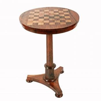 George IV Rosewood Games Table