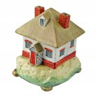 Cottage Shaped Pottery Pastille Burner