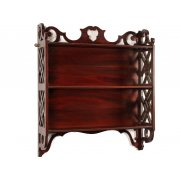 Chippendale Style Mahogany Wall Shelves