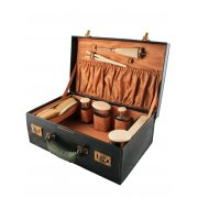 Fitted Leather Dressing Case