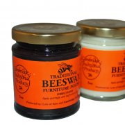 Brown Beeswax Furniture Polish