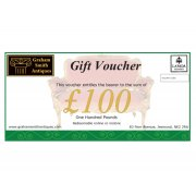 Graham Smith Antiques £100 Gift Voucher