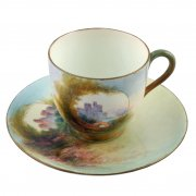 Royal Worcester China Cup & Saucer
