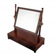 Regency Mahogany Dressing Mirror
