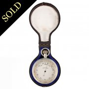 Victorian Compensated Pocket Barometer