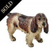 Austrian Cold Painted Bronze Spaniel