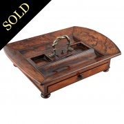 19th Century Regency Rosewood Standish