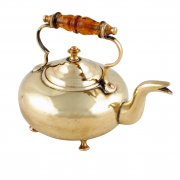 Victorian Miniature Brass Toddy Kettle