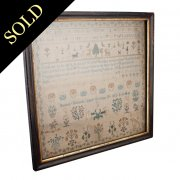 George III Needlework Sampler