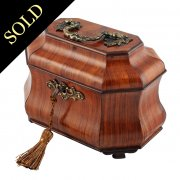 18th Century Dutch Kingwood Tea Caddy